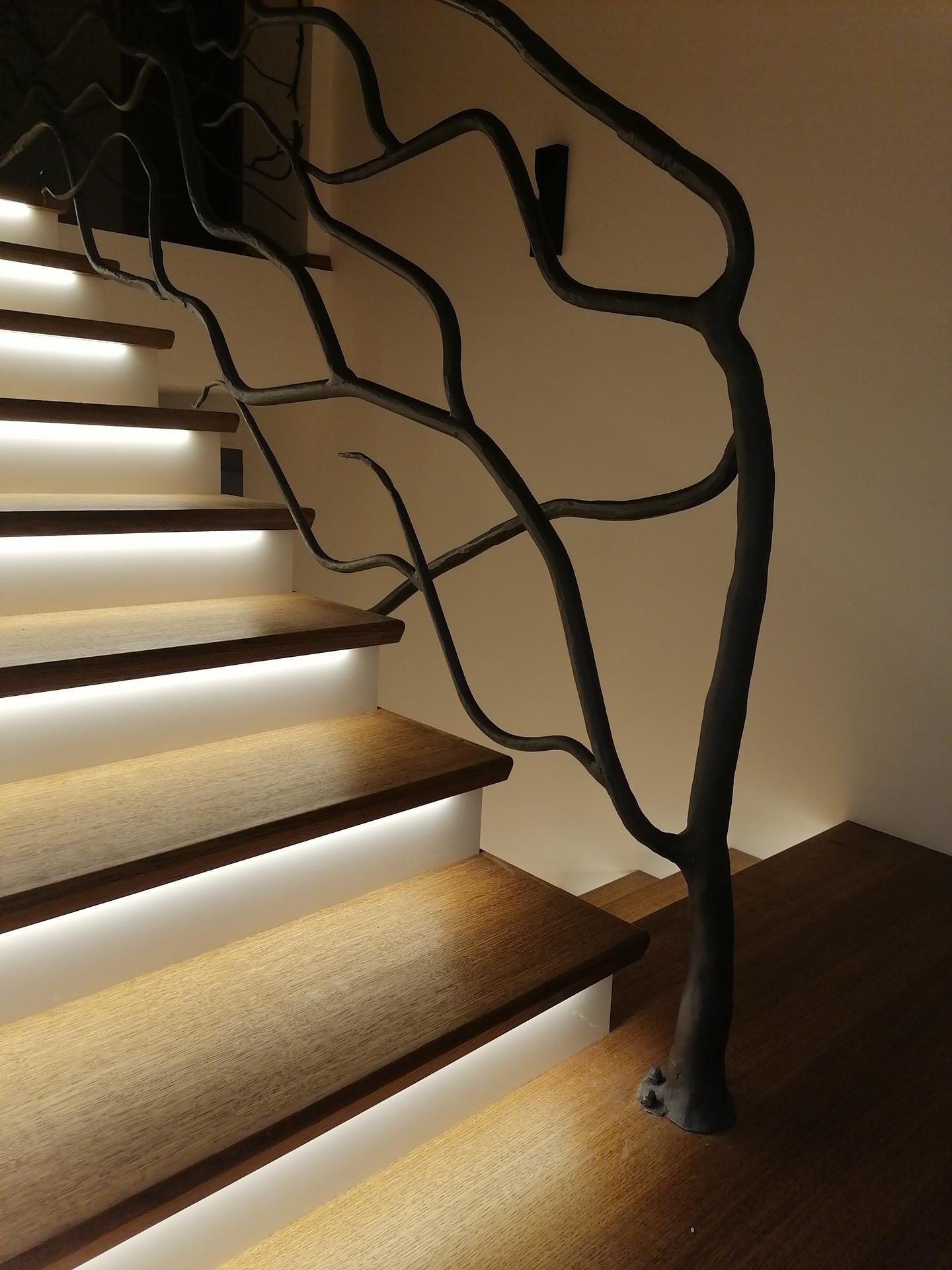 Náš český farmhouse ❤️ - Konečně nám svítí schody :)