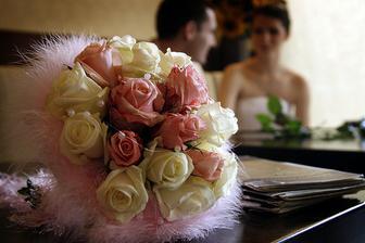 svatební kytička, opravdu překrasná