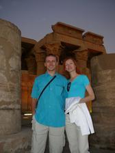 svadobná cesta 26.10.-2.11. v Egypte....chrám v Com Ombo
