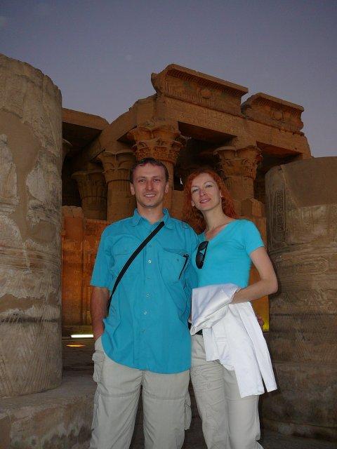 Danjelik a Jipi - svadobná cesta 26.10.-2.11. v Egypte....chrám v Com Ombo