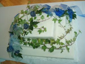 torta od kamarátky Evičky a jej manžela Miloška