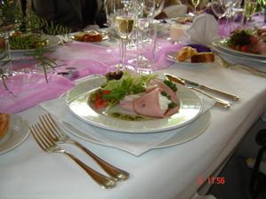 jídlo bylo výborné