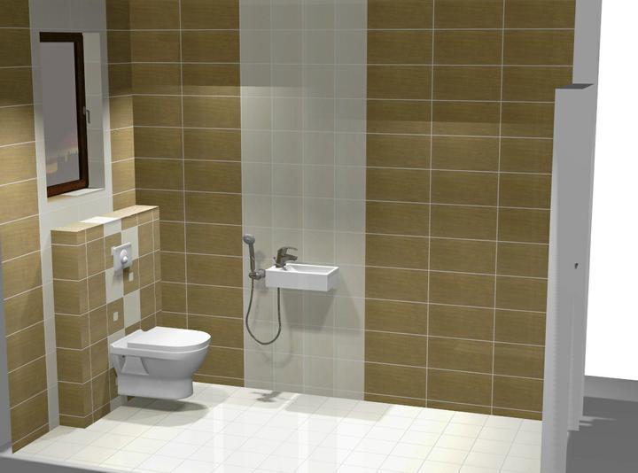 Nas domcek-upraveny bungalov 881 Euroline - návrh WC