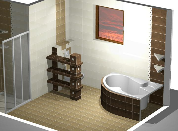 Návrh kúpelne