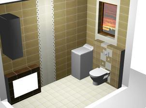 návrh WC