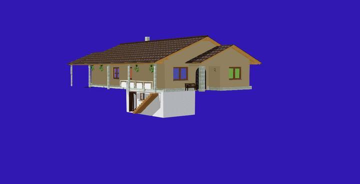 Nas domcek-upraveny bungalov 881 Euroline - Takto nejako by to malo vyzerať