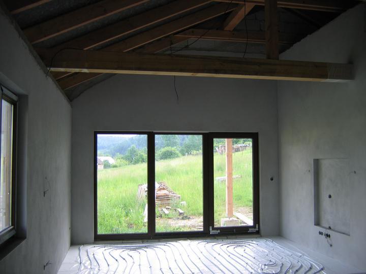 Nas domcek-upraveny bungalov 881 Euroline - obývačka