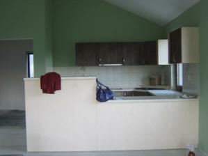 kuchyna namontovana