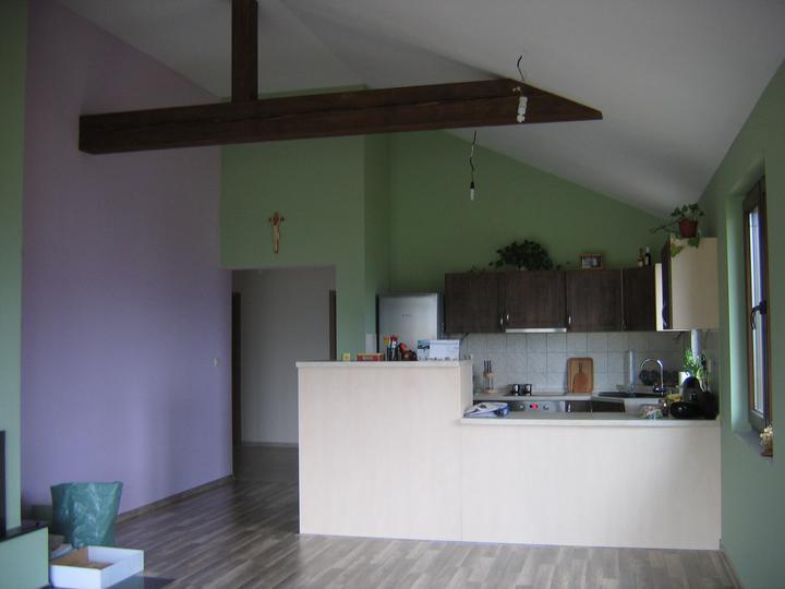 Nas domcek-upraveny bungalov 881 Euroline - tu pojde jedalensky stol