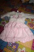 Ružové šatôčky s bolerkom, 62