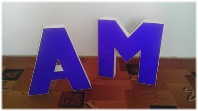 Naše iniciály ... Alenka a Marcel