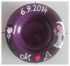 Talíř na polévku pro novomanžele :)
