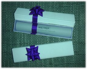 Krabičky s poděkováním pro rodiče ... :)