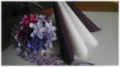 ... s květinovou dekorací ...