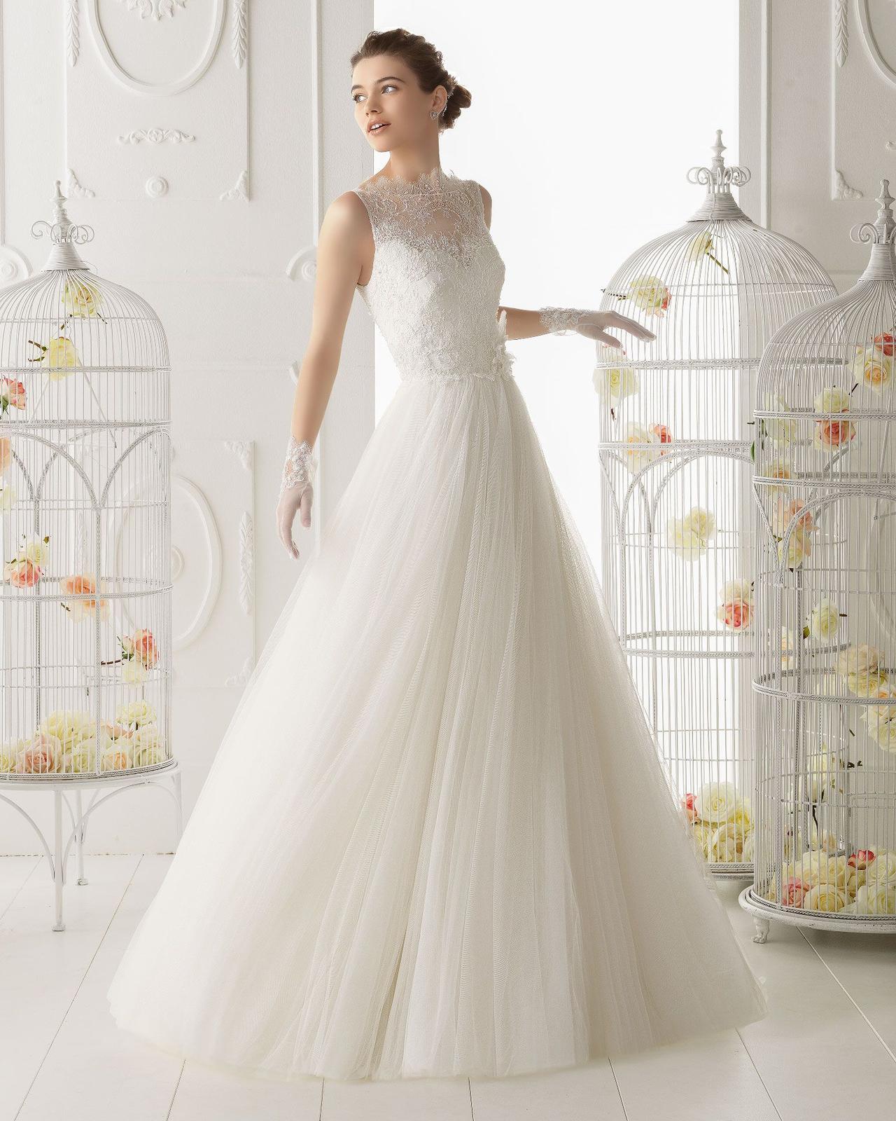 Svadobné šaty AIRE BARCELONA - Obrázok č. 1