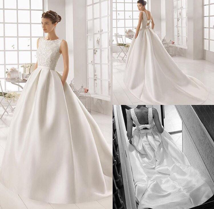 Svadobné šaty AIRE BARCELONA - Obrázok č. 3