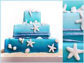 Plážový dort