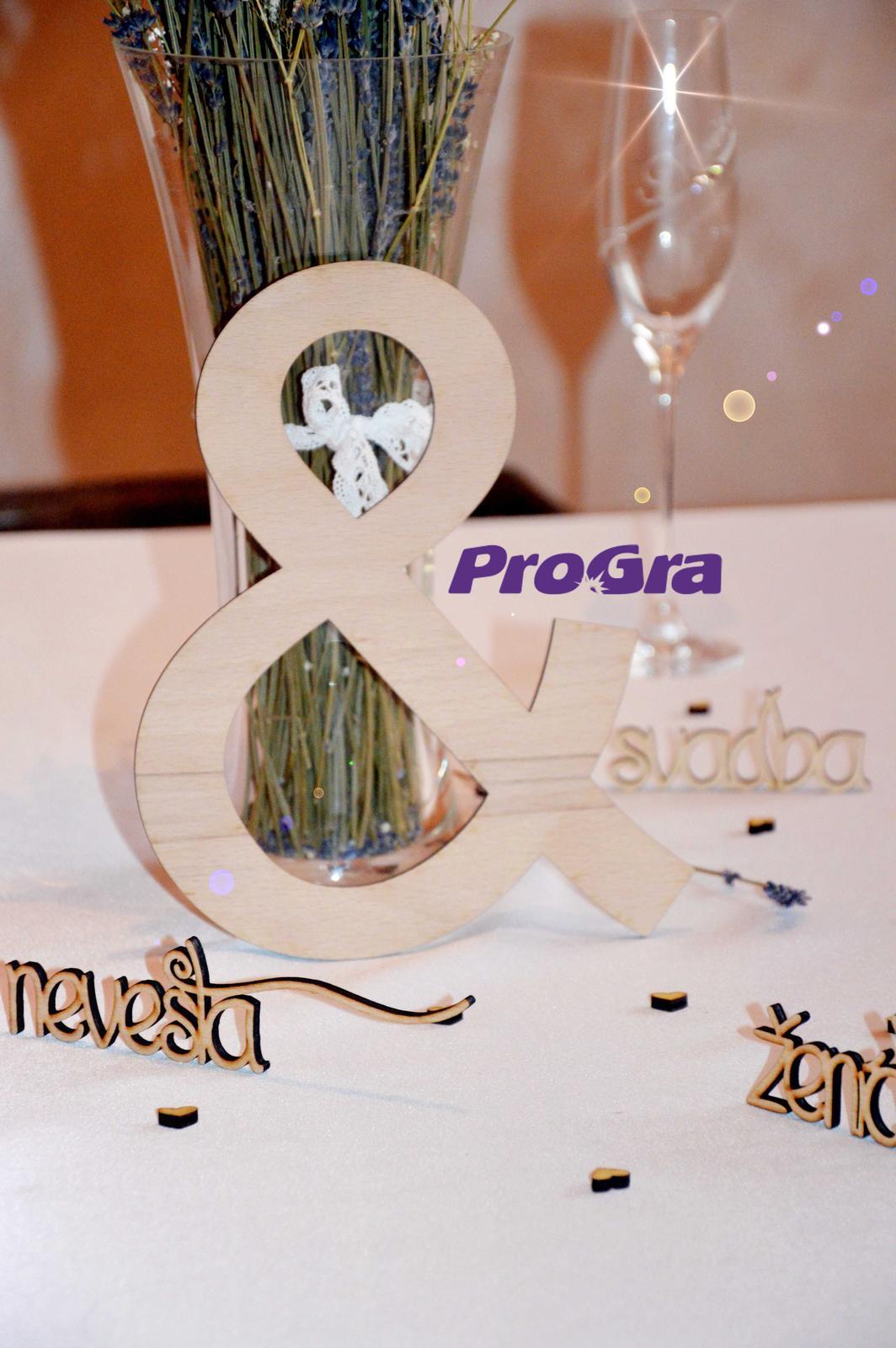"""Originální Svatební Doplňky - svatební dekorace """"&"""""""