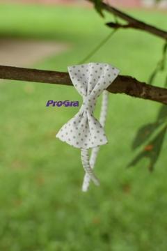 Po svatbě - Čelenka - bodkovaná mašle