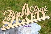 Svatební stojánok s postavičkami - inspirace od zákazníčky