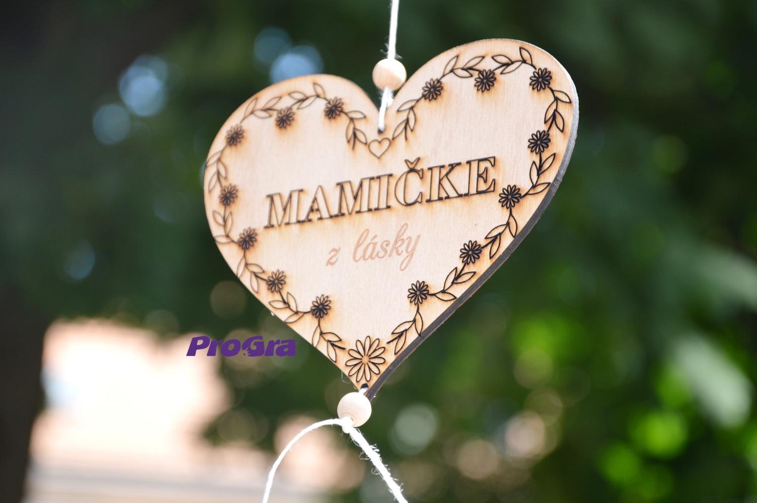 Po svatbě - krásné srdíčko pro mamičky