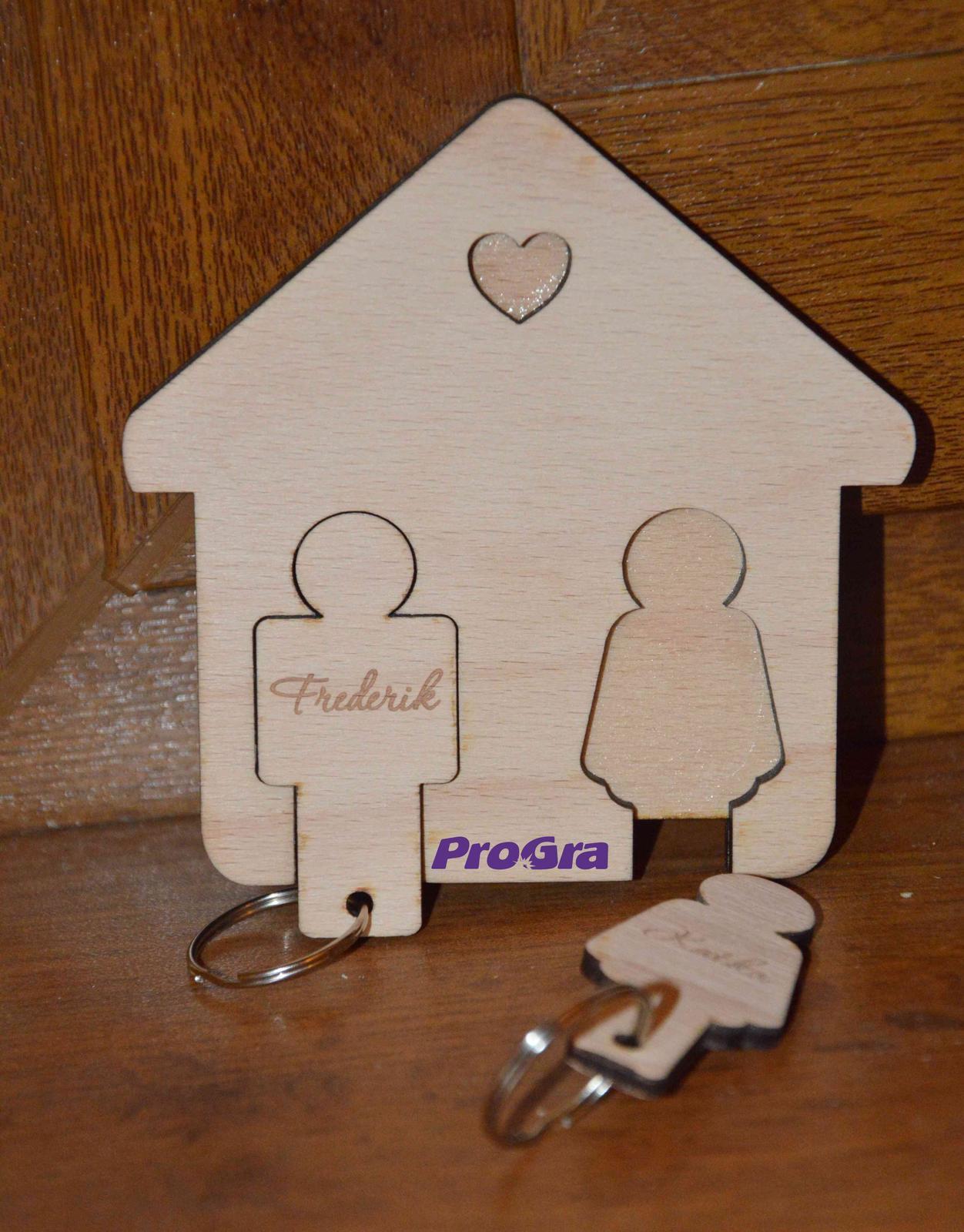 Domeček na klíče - Obrázek č. 1