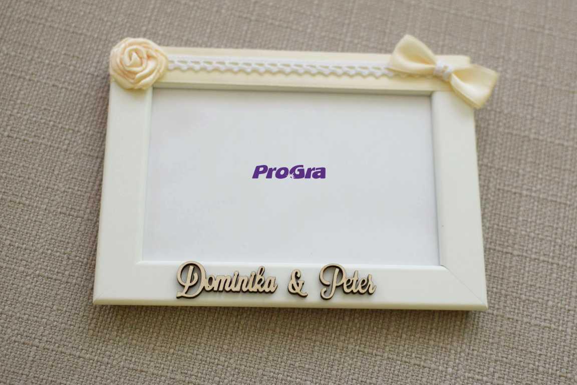 Svatební fotorámečky - set 3 ks - Obrázek č. 4