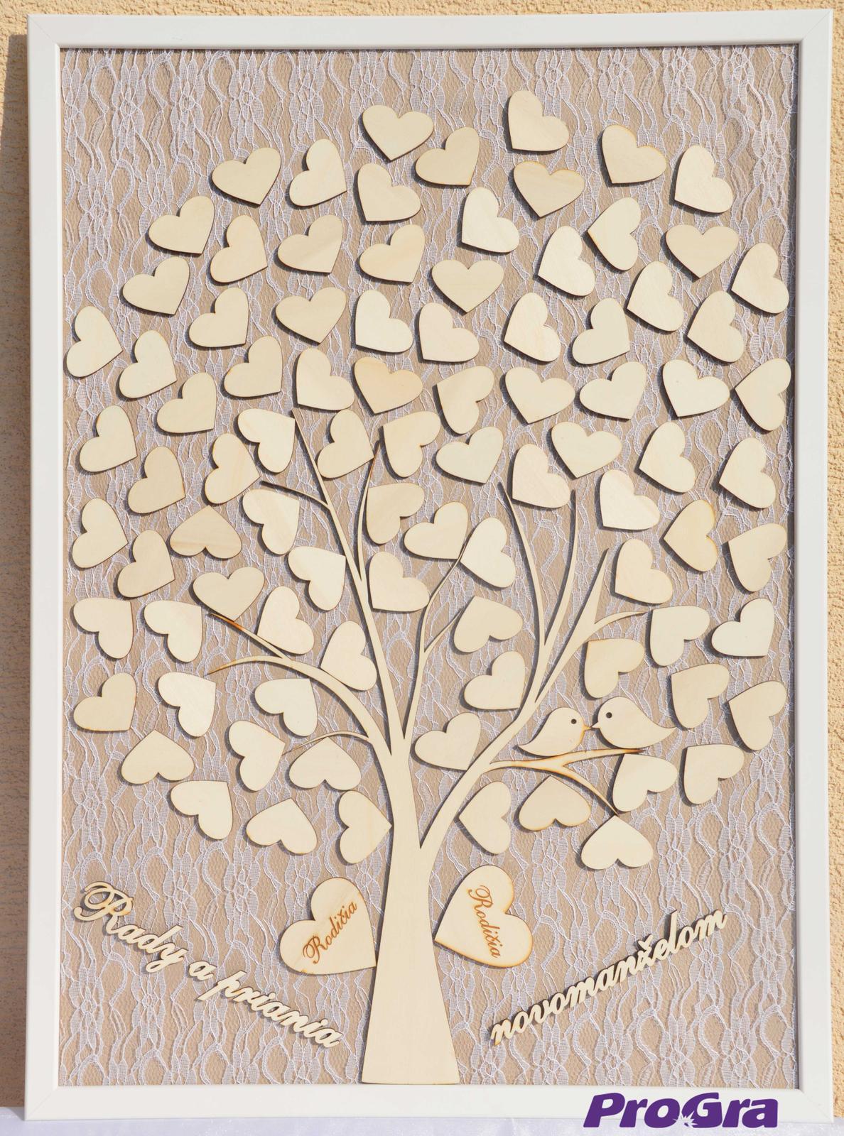 Svatební strom - vintage obraz - Obrázek č. 1