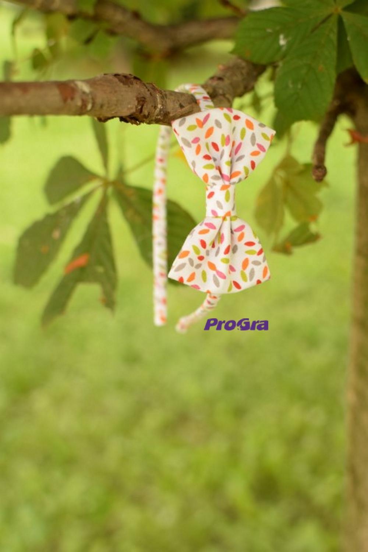Čelenka - barevná mašle - Obrázek č. 1