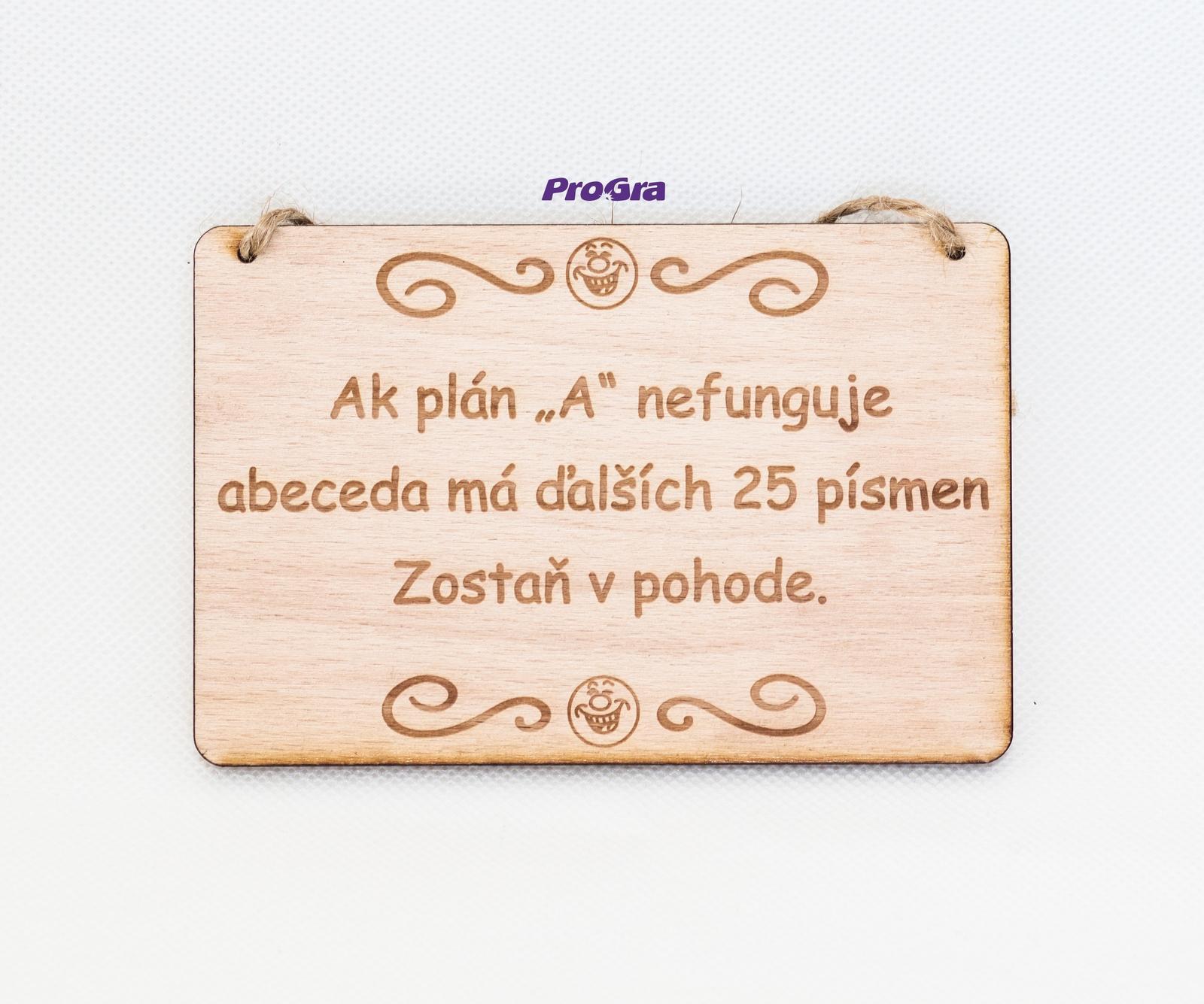 Tabulka natur - Ak plán A nefunguje - Obrázek č. 1
