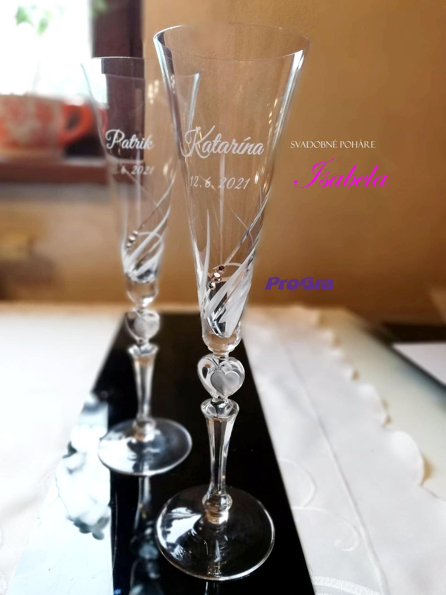 progra_sk - Svadobné poháre Isabela