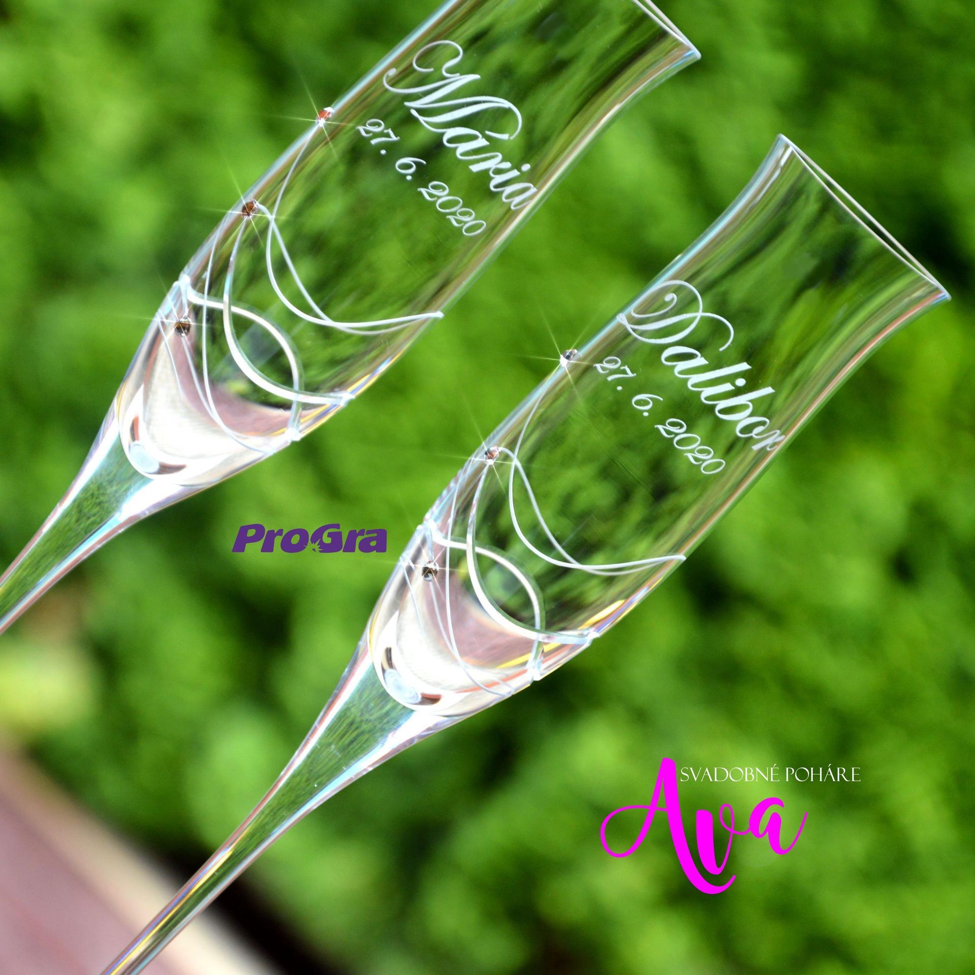 Svatební skleničky - Obrázek č. 54