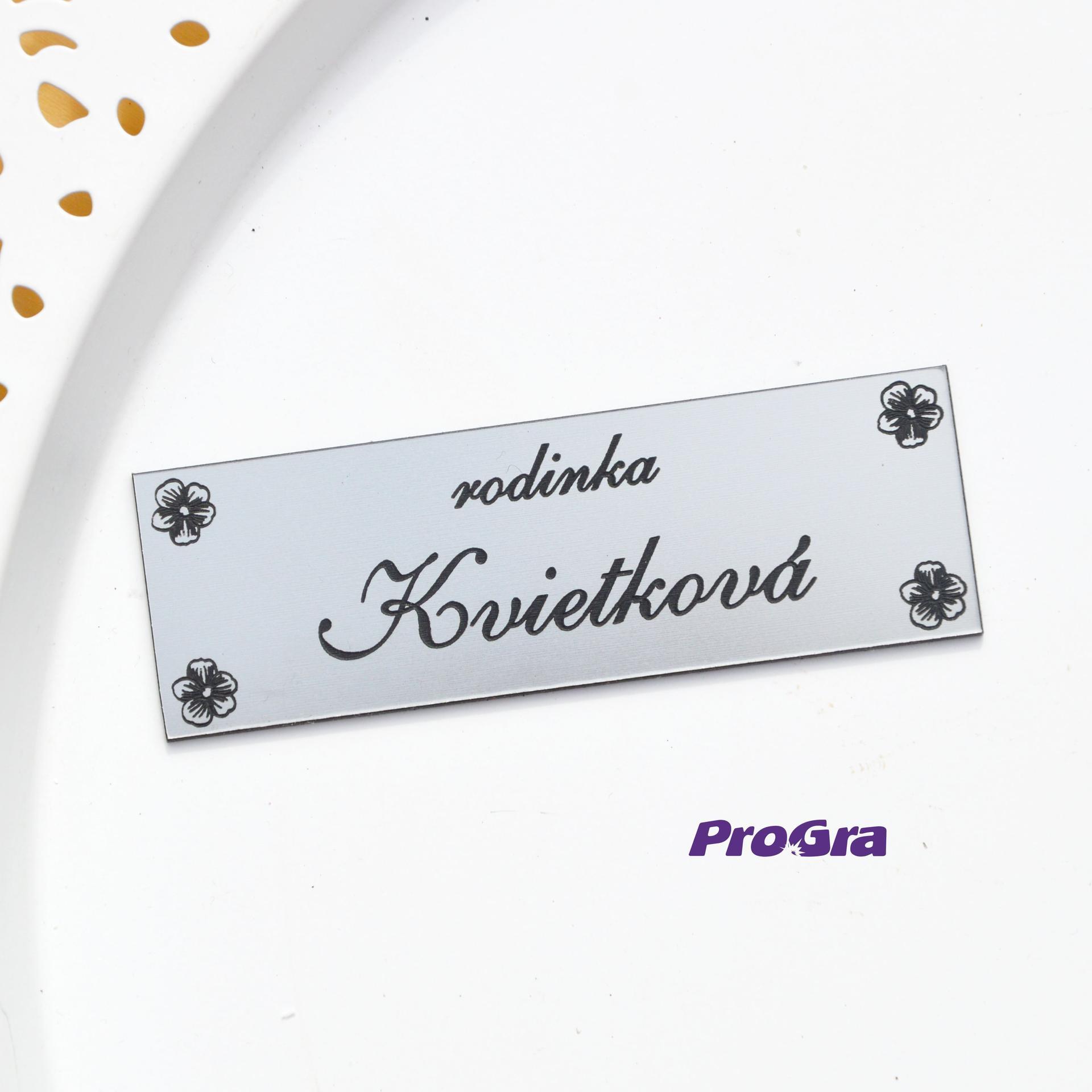 Po svatbě - jmenovky a cedulky s nápadem :-)