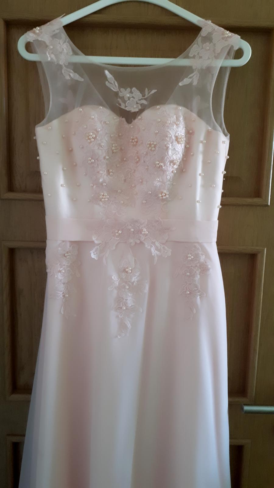 Romantické ružové šaty Grace Karin - Obrázok č. 1