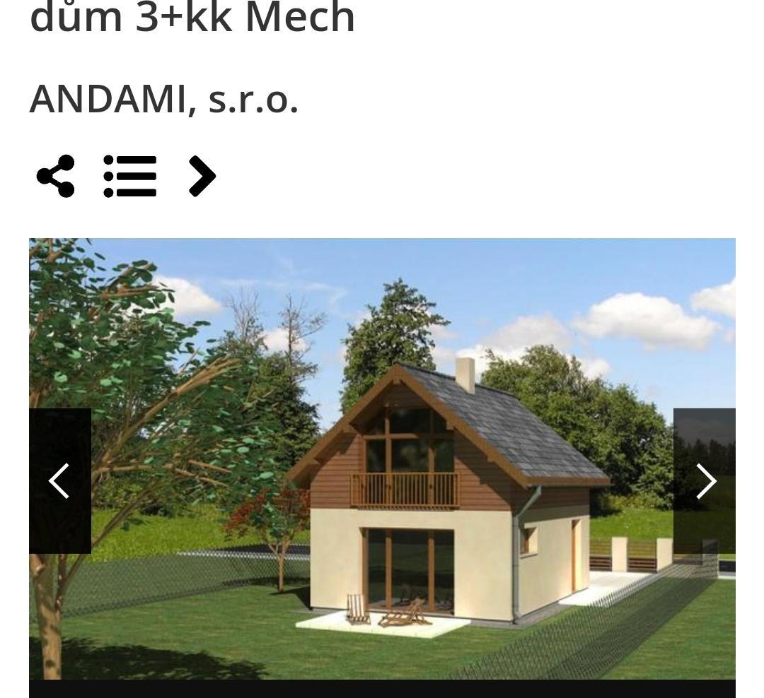Chystáme se stavět novou chatu,  40m2 - Obrázek č. 2