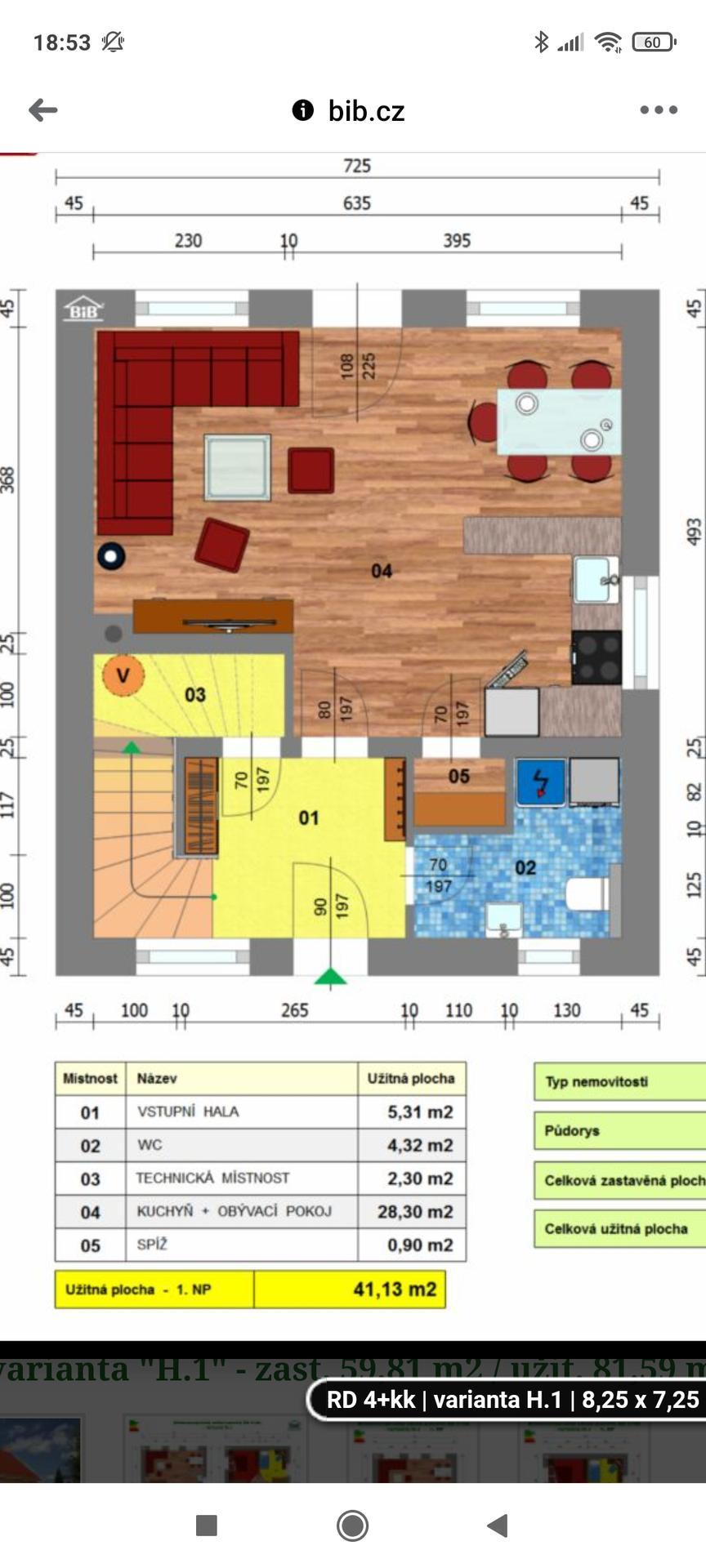 Chystáme se stavět novou chatu,  40m2 - Obrázek č. 40