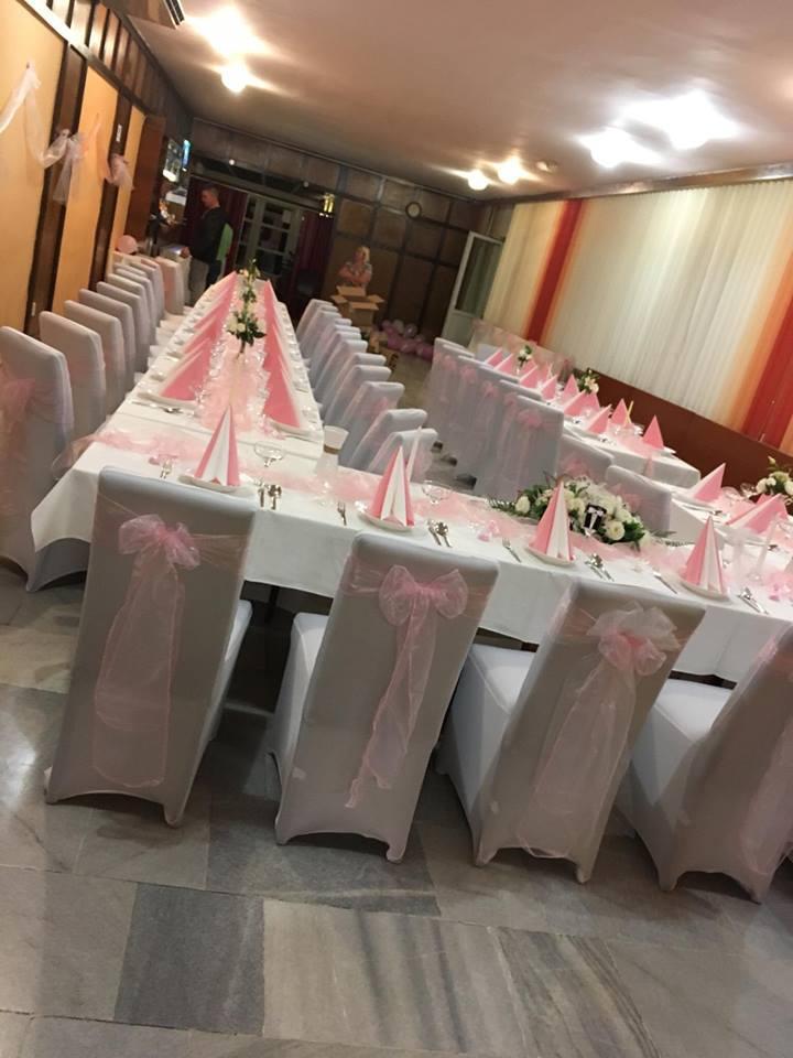 Svatební potahy na židle - univerzální + mašle - Obrázek č. 1