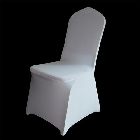 Svatební potahy na židle - univerzální + mašle - Obrázek č. 2