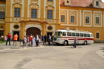 Krásný Borovanský klášter.