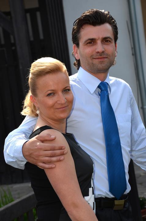 Můj nový švagr s manželkou. ;o)