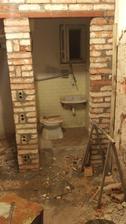 O trošku sme zväčšili spodný záchod :) Z rozmeru 100x120cm sme sa prepracovali na rozmer 180x120cm  19/11/15
