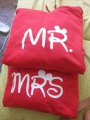 Mikiny pre páry Mr. a Mrs., XL