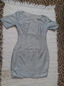 Strieborné šaty, XS