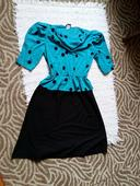 Tyrkisovo čierne šaty, S