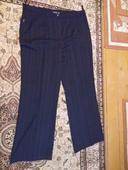 Čierne pukové nohavice, XXL