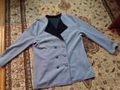 Sivý kabátik, XL