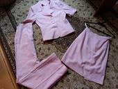 Sada ružového kostýmu, XS