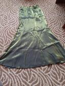Zelená dlhá sukňa, M