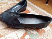 Čierne kožené topánky, 41