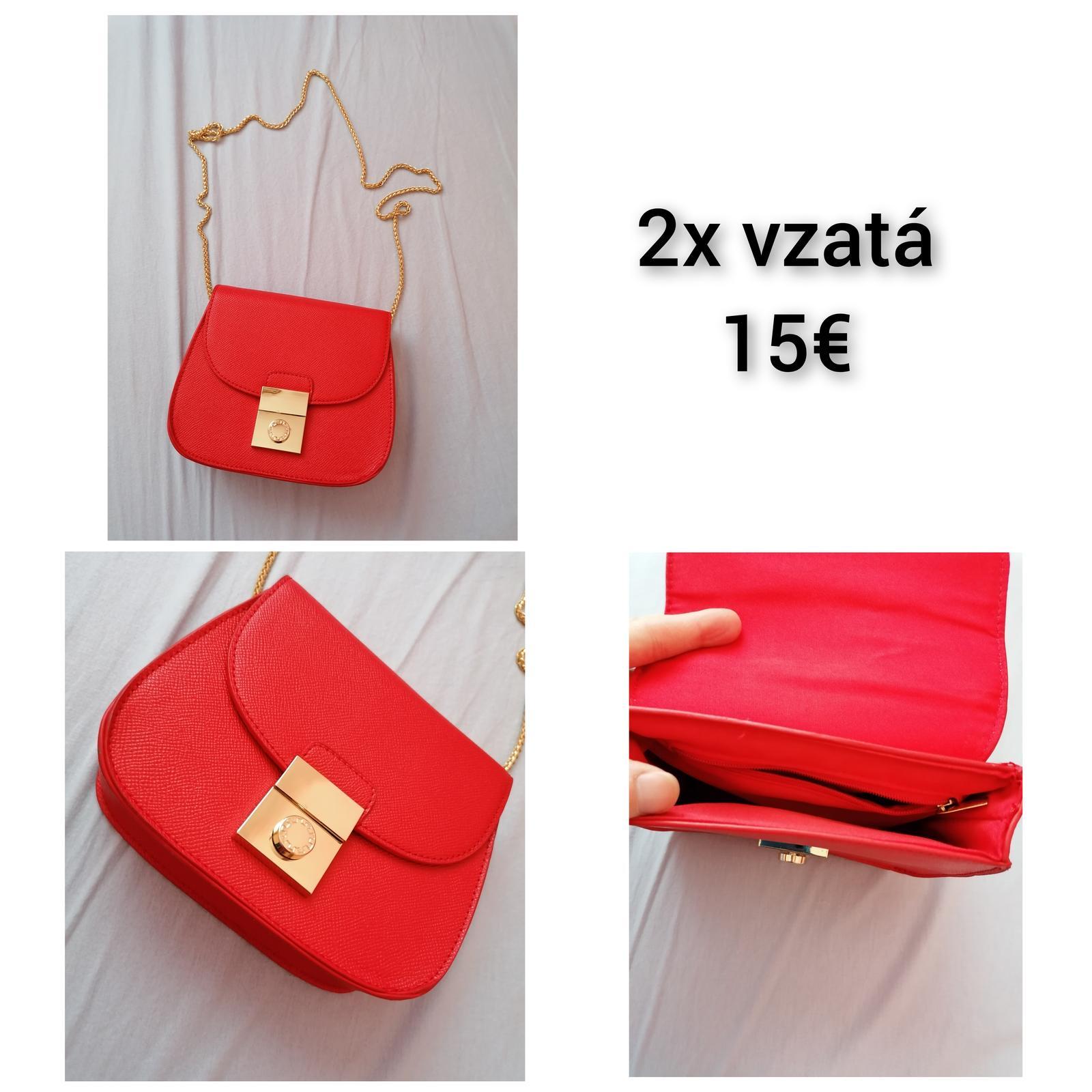 Červená kabelka - Obrázok č. 1
